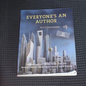 Everyone's an author textbook